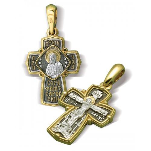 Крест «Пр.Серафим Саровский» КР050