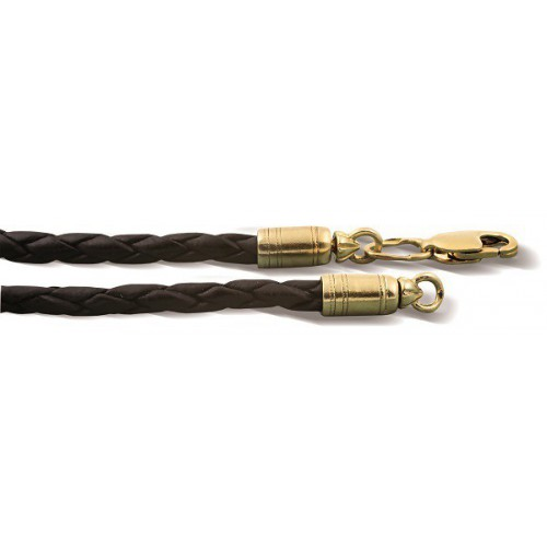 Кожаный шнурок с регулируемым размером Ш.01сз