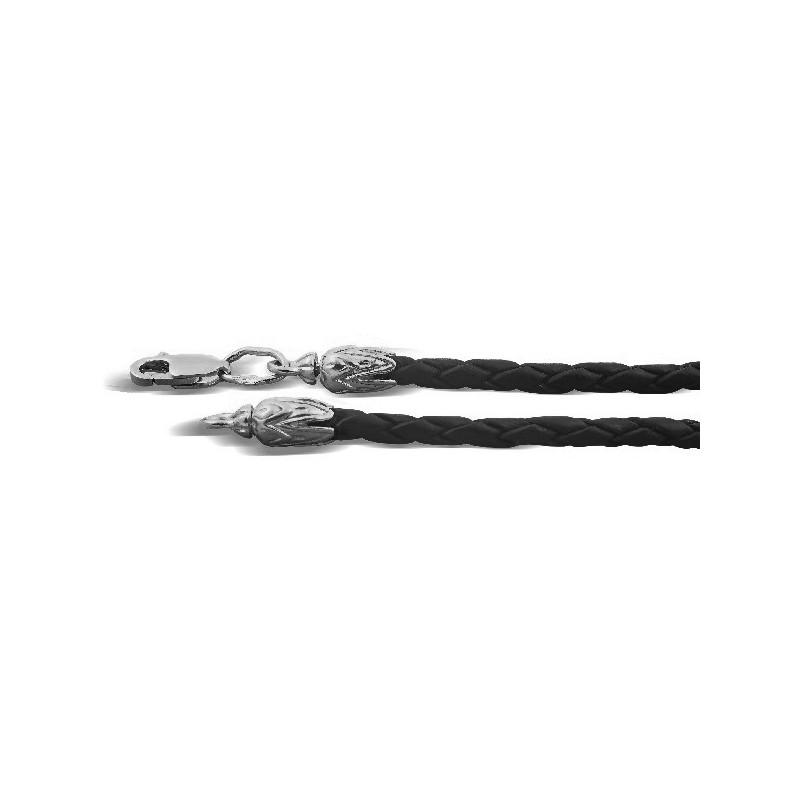 Кожаный шнурок с регулируемым размером ШПК.01