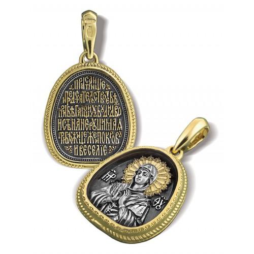 Образ «Икона Божией Матери «Семистрельная» ПД.004