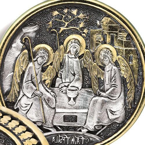 Образ «Преподобный Александр Свирский. Святая Троица» ПД066
