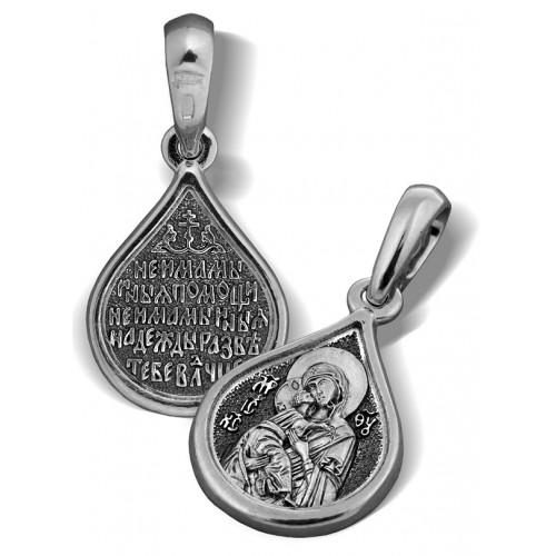 Образ «Владимирская икона Божией Матери, «Умиление» ПД011