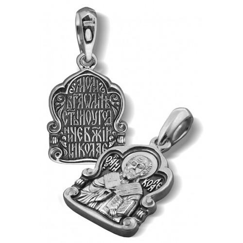 Образ «Святитель Николай Мирликийский Чудотворец» ПД026
