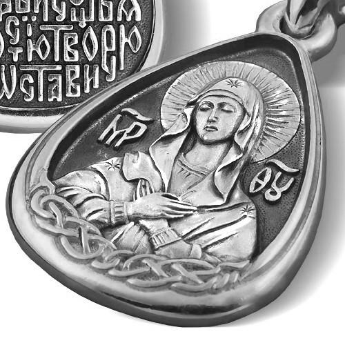 Образ «Икона Божией Матери «Умиление» ПД027