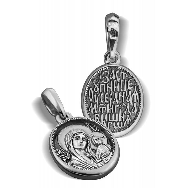 Образ «Казанская икона Божией Матери» ПД028