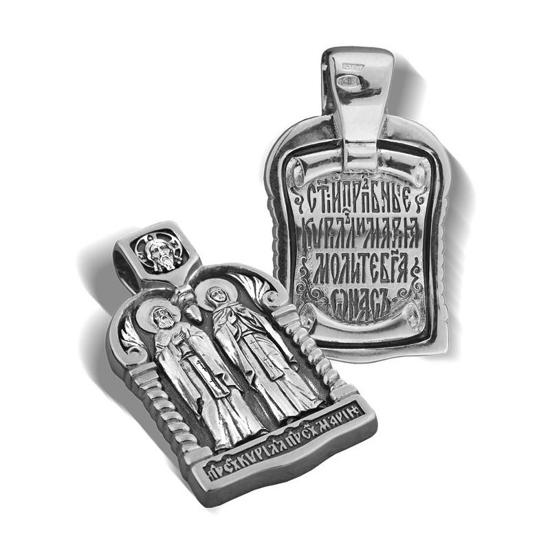 Образ «Святые Кирилл и Мария» ПД029