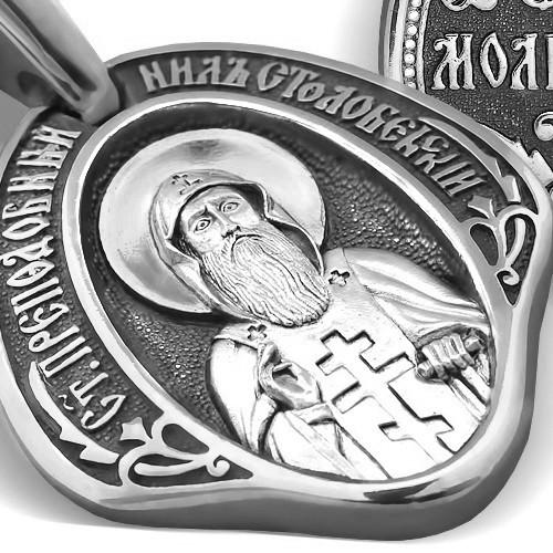 Образ «Преподобный Нил Столобенский» ПД098s